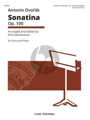 Dvorak Sonatina Op. 100 Viola and Piano (transcr. by Kim Kashkashian)