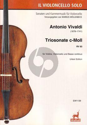 Vivaldi Triosonate c-Moll RV 83 Violine, Violoncello und Basso continuo (Markus Möllenbeck)