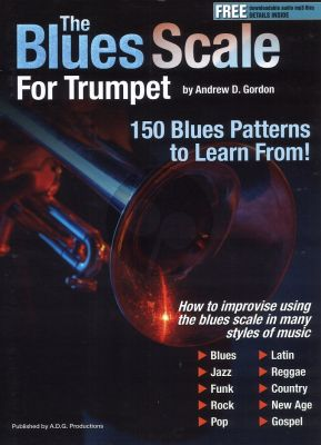 The Blues Scale for Trumpet Book - Audio online