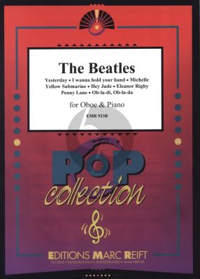 Beatles The Beatles for Oboe and Piano (8 Greatest Hits arranged by John Glenesk Mortimer)