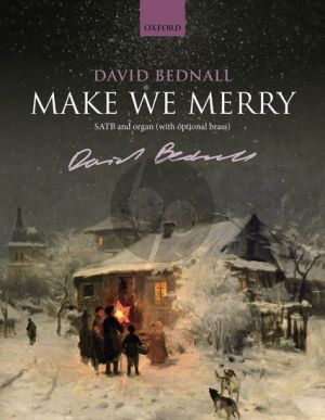 Bednall Make We Merry SATB and Organ Vocal Score