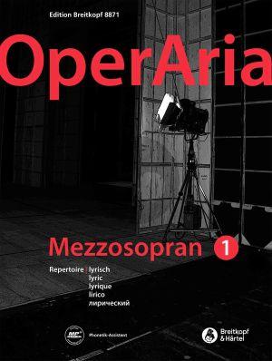 OperAria Mezzo Soprano Vol.1 Lyric Repertoire (edited by Peter Anton Ling and Marina Sandel) (germ./engl.)