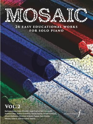 Mosaic Volume 2 Piano solo (26 educational works)