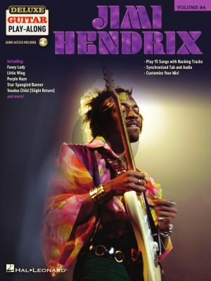 Jimi Hendrix 15 Songs (Deluxe Guitar Play-Along Volume 24) (Book with Audio online)