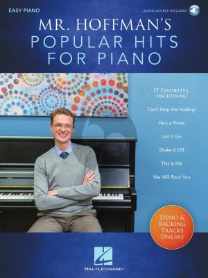 Mr. Hoffman's Popular Hits for Piano (Book with Audio online) (arr. Joseph Hoffman)