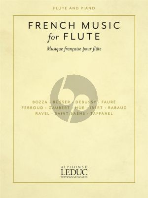 French Music for Flute and Piano (compiled by Sonora Slocum)