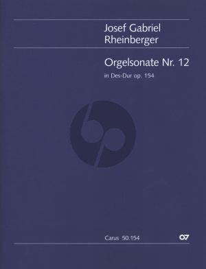 Rheinberger Sonate No.12 Des-dur Opus 154 Orgel (Martin Weyer)