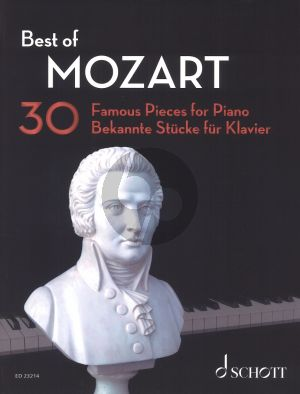 Best of Mozart for Piano (30 Famous Pieces) (Original Piano Pieces and Arrangements by Hans-Gunther Heumann)