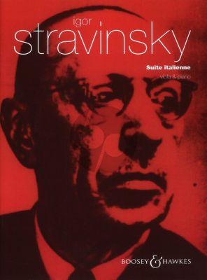 Strawinksy Suite Italienne Viola and Piano (arr. Kim Kashkashian) (from Pulcinella)