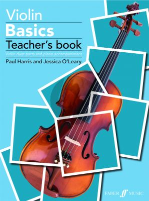 Violin Basics - Teacher's Book (Violin duet parts and piano accompaniment) (Book with Audio online)
