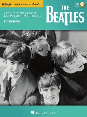 The Beatles Keyboard Signature Licks (transcr. by Todd Lowry) (Book with Audio online)