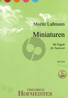 Lassmann Miniaturen Fagott solo