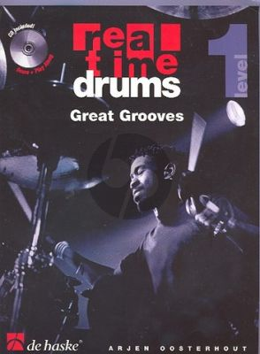 Oosterhout Real Time Drums - Great Grooves (Bk-Cd) (english)
