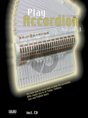 Haas Play Accordion Vol.1 Bk-Cd (The new way to learn how to play the accordion) (english)
