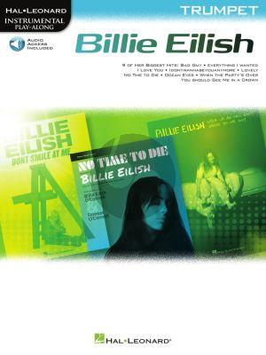 Billie Eilish Trumpet Instrumental Play-Along Pack (Book with Audio online)