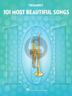 101 Most Beautiful Songs for Trumpet