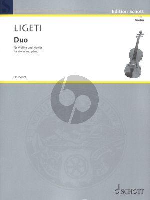 Ligeti Duo für Violine und Klavier