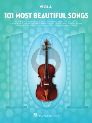 101 Most Beautiful Songs for Viola