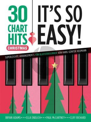 30 Charthits - It's So Easy! Christmas (Hans-Günter Heumann)