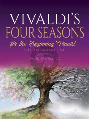 Vivaldi's Four Seasons for the Beginning Pianist (With Downloadable MP3s) (arr. David Dutkanicz)