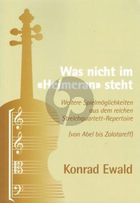 """Ewald Was nicht im """"Heimeran"""" steht (von Abel bis Zolotareff)"""
