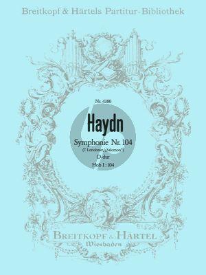 Haydn Symphonie No.104 D-dur Hob.I:104 Orchester Partitur