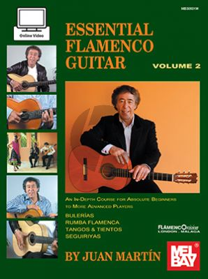 Martin-Campbell Essential Flamenco Guitar Volume 2 (Book with Audio online)