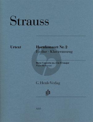 Strauss Konzert No. 2 Es-dur Horn und Orchester (Klavierauszug) (Hans Pizka)