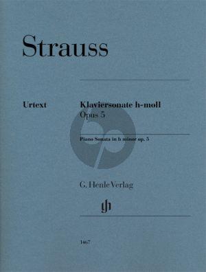 Sonate h-moll Op. 5 Klavier