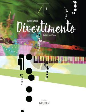 Zalba Divertimento for Flute and Piano