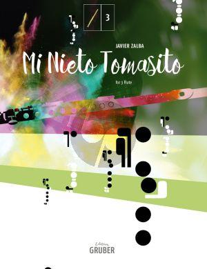 Zalba Mi nieto Tomasito für 3 Flöten (Tema con variaciones) (Part./Stimmen)