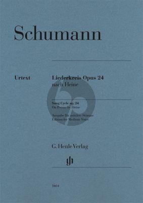 Schumann Liederkreis Op.24 Medium (edited by Kazuko Ozawa) (Henle-Urtext)