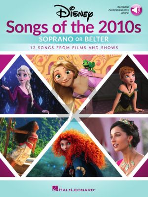 Disney Songs of the 2010s: Soprano or Belter (Book with Audio online)