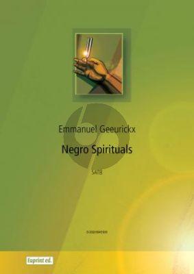 Geeurickx Negro Spirituals SATB