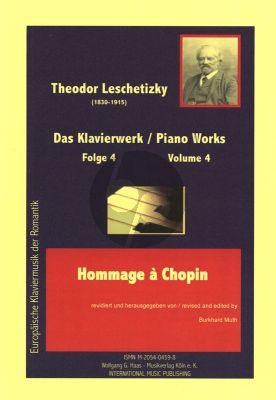 Leschetizky Piano Works Vol.4
