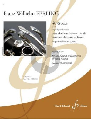 Ferling 48 Etudes Op. 31 Bass Clarinet or Basset-horn (transcr. Mark Wolbers)
