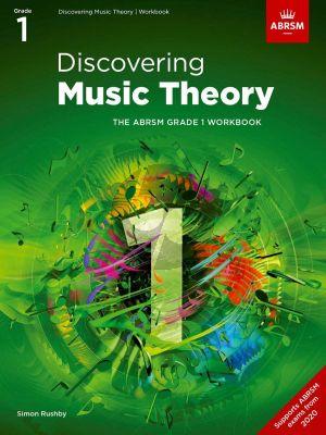 ABRSM: Discovering Music Theory Grade 1 Workbook