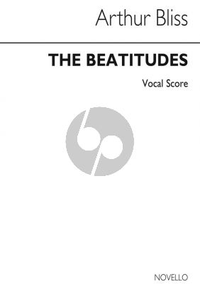 Bliss Beatitudes Soprano, Tenor SATB and Chamber Group (Vocal Score)