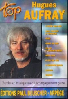 Aufray Hugues Aufray Songbook Piano/Vocal/Guitar