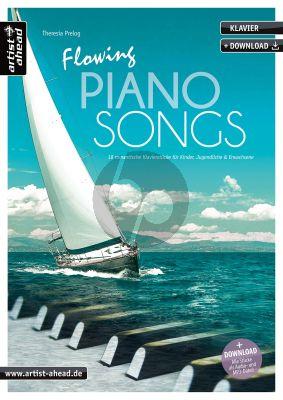 Prelog Flowing Piano Songs für Klavier (Book with Audio online)