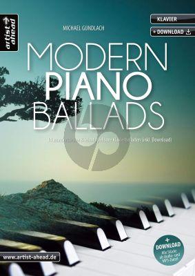 Gundlach Modern Piano Ballads Klavier (Book with Audio online)