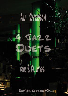 Ryerson 4 Jazz Duets for 2 Flutes (Score/Parts)