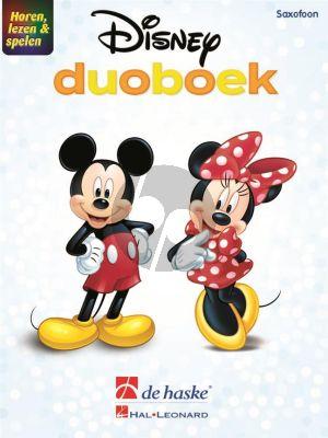 Horen, lezen & spelen - Disney-duoboek 2 Saxofoons