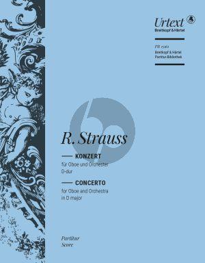 Concerto D-major TrV 292 Oboe and Orchestra