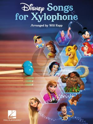 Disney Songs for Xylophone (arr. Will Rapp)