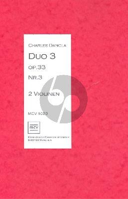 Dancla Duo op.33 no.3 für 2 Violinen