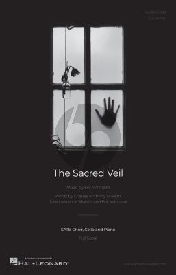 Whitacre The Sacred Veil SATB-Cello and Piano (Score)
