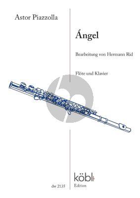 Piazzolla Angel Flöte und Klavier (arr. Hermann Rid)
