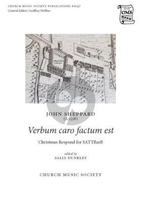 Sheppard Verbum caro factum est SATTBarB (edited by Sally Dunkley)