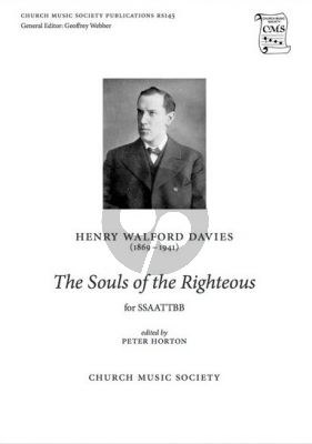 Walford Davies The souls of the righteous SSAATTBB